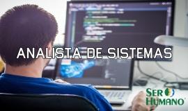 Imagem de Vaga de emprego – Analista de sistemas – Ser Humano