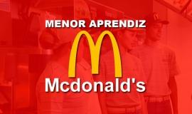 Imagem de Vaga de menor aprendiz na Empresa McDonald's